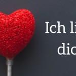 Ich liebe dich! (1)