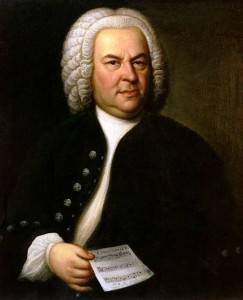 German composers: Johann Sebastian Bach