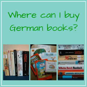 Where can I buy German books?