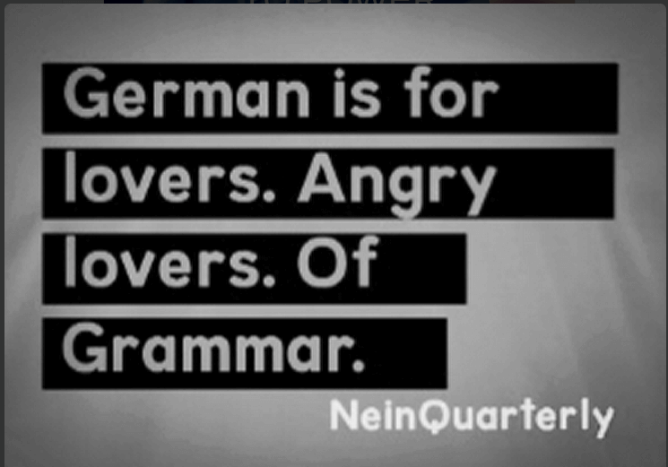 German is for lovers