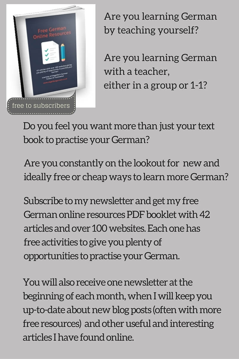 Are you learning German by teaching yourself-Are you learning German with a teacher, either in a group or 1-1- (1)