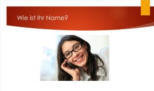 Wie ist Ihr Name