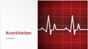 Ich bin krank - useful German phrases in case of illness