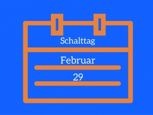 Das Schaltjahr - a blog post for leap years!