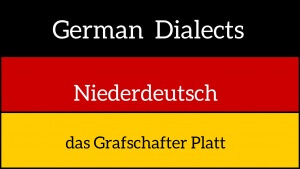 German dialects - das Grafschafter Platt