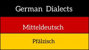 German dialects - Pfälzisch