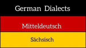 German dialects – Sächsisch