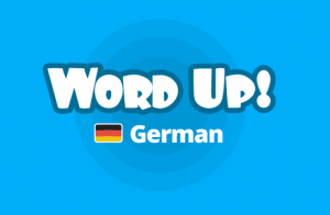 Word Up - a great way to practise some German