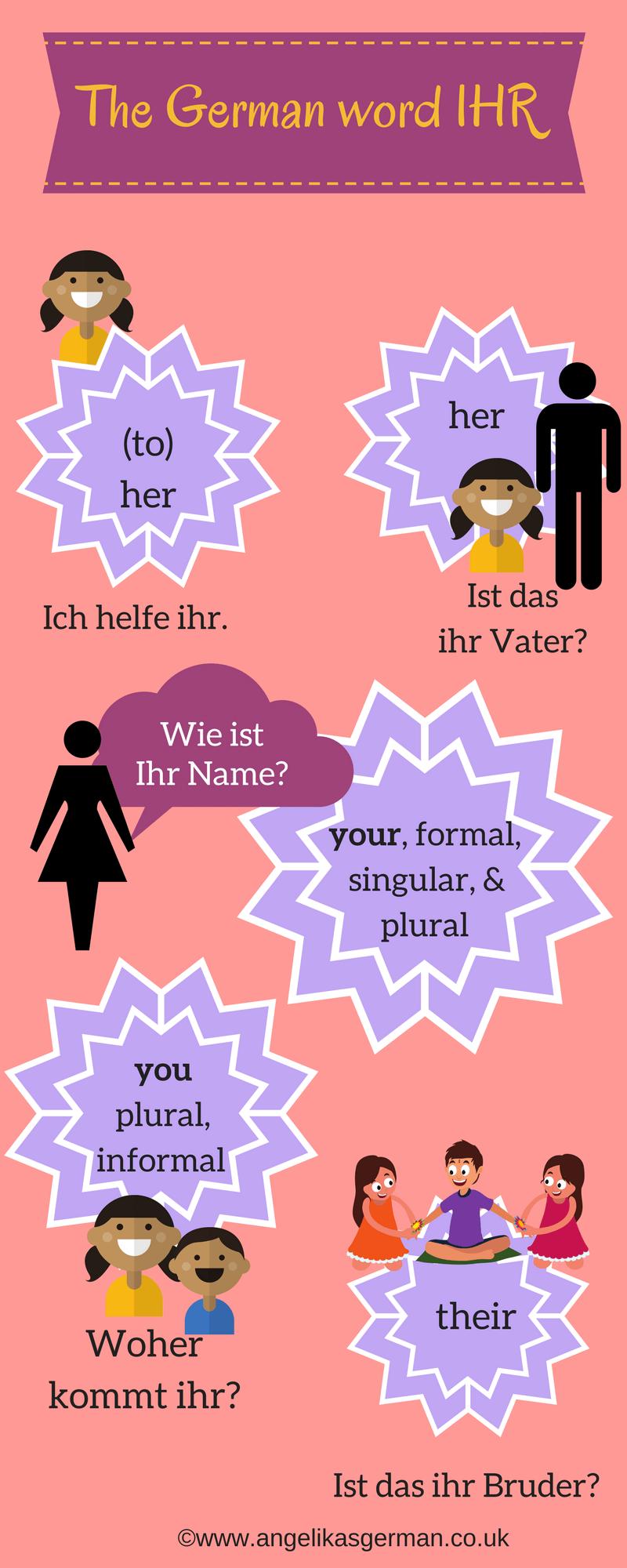 The German word \'ihr\' - Angelika\'s German Tuition & Translation