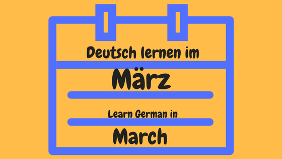 15 quirky ideas to learn German in March