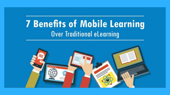 7 benefits of mobile learning - an infographic