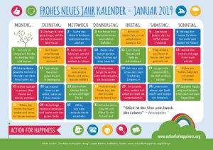 Learn German and spread some happiness in January