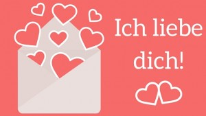 Valentin - ich liebe dich!
