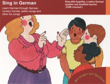 German workshops for Children - Angelika Davey - german