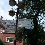 Signs for cycling routes are everywhere