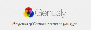 Genusly - a Chrome add-on for email writing in German