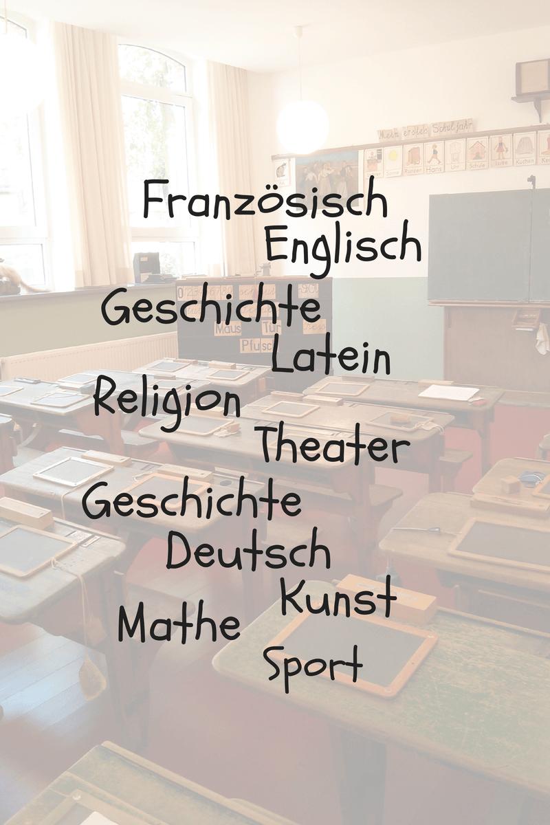 What Subjects Do German School Children Learn?
