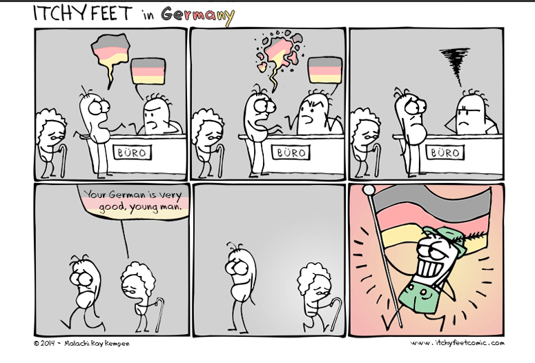 Itchy feet in Germany 2