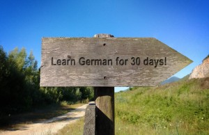 Angelika's challenge: learn German for 30 days and win prizes