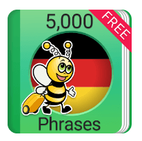 Learn 5000 German phrases with this app