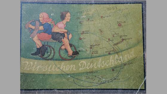 Wir suchen Deutschland - an old children's book
