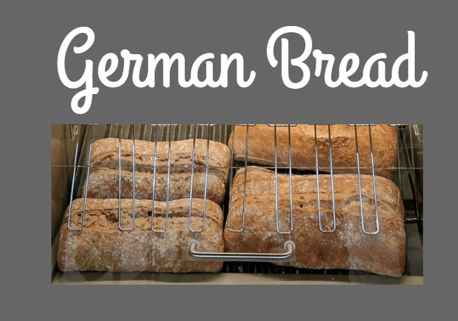 Would you like to bake some German bread?