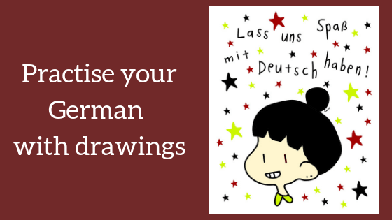Practise your German with drawings