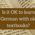 Angelika's German Tuition and Translation - old textbooks