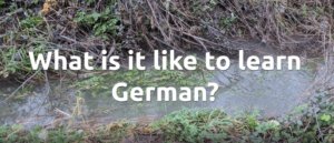What is it like to learn German?