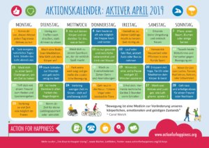 Learn some German and be active in April