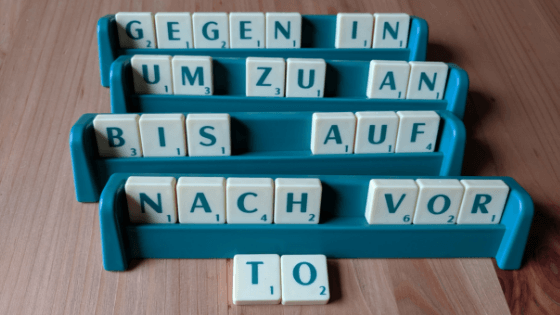 "10+ German translations for the English word ""to"""