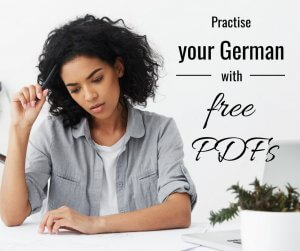 Practise your German with free PDFs