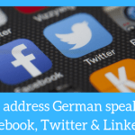 Angelika's German Tuition and Translation - how to address german speakers on social media