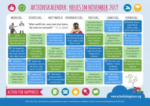 Learn some German while doing new things in November
