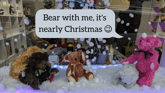 Bear with me, it's nearly Christmas 😉
