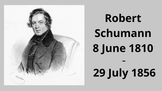 German composers: Robert Schumann
